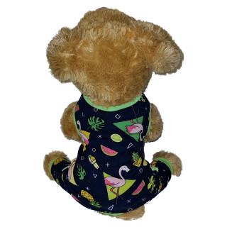 Pawsh Couture Cotton Stretch Onesies Tropical Pet Pajamas