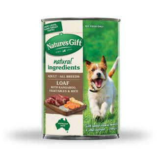 Nature's Gift Meal Time Kangaroo, Rice & Vegetables 700g Dog Wet Food