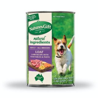 Nature's Gift Meal Time Lamb, Pasta & Vegetables 700g Dog Wet Food