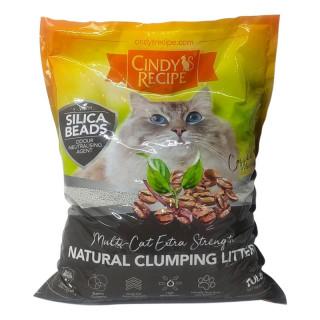 Cindy's Recipe Natural Clumping Bentonite Coffee 10L Cat Litter