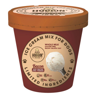 Hoggin Dogs' Ice Cream Mix Sugar-Free Bacon for Dogs