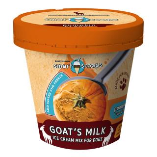 Smart Scoops Ice Cream Mix Goat's Milk Pumpkin for Dogs