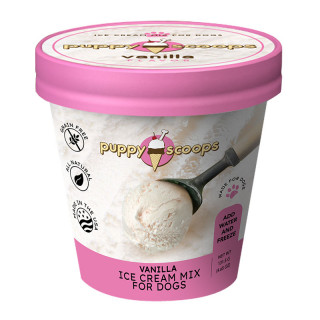 Puppy Scoops Ice Cream Mix Vanilla for Dogs