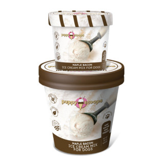 Puppy Scoops Ice Cream Mix Maple Bacon for Dogs
