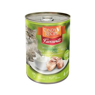 Cindy's Recipe Favourite Wild-Caught Tuna with Goat Milk 400g Cat Wet Food