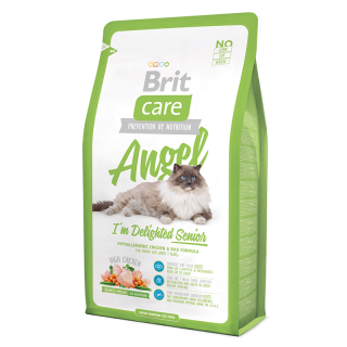 Brit Care Angel I'm Delighted Hypoallergenic Chicken and Rice 2kg Cat Dry Food