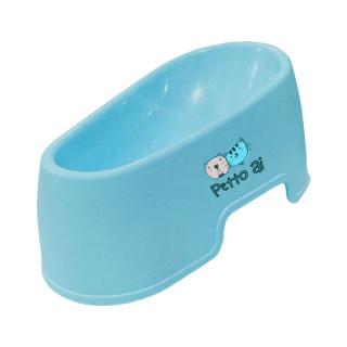 Petto Ai Plastic Pet Bowl - BLUE
