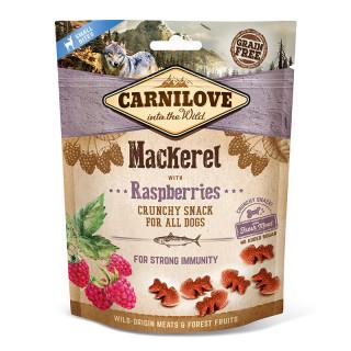 Carnilove Into the Wild Crunchy Snack Mackerel with Raspberries 200g Dog Treats