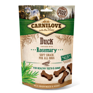 Carnilove Into the Wild Soft Snack Duck with Rosemary 200g Dog Treats