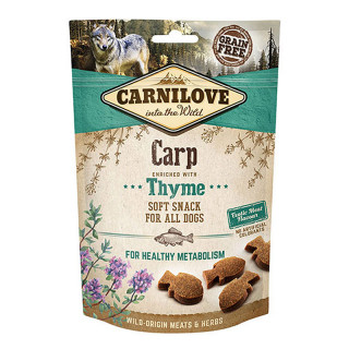 Carnilove Into the Wild Soft Snack Carp with Thyme 200g Dog Treats