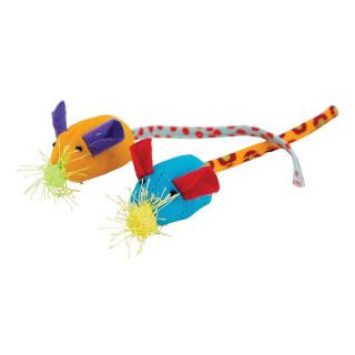 Petstages Twice Mice Cat Toy