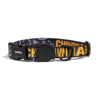 Zee.Dog Chinatown Market Black Dog Collar