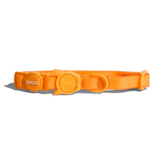 Zee.Cat Neopro Weatherproof Tangerine Cat Collar