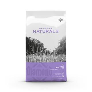 Diamond Naturals Chicken & Rice Kitten Cat Dry Food