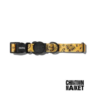LIMITED EDITION Chinatown Market x Zee.Dog Yellow Dog Collar