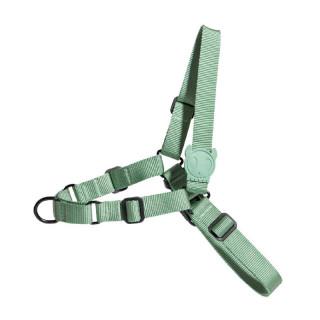 Zee.Dog Army Green No-Pull Soft-Walk Dog Harness