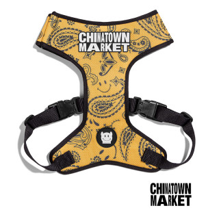 LIMITED EDITION Chinatown Market x Zee.Dog Adjustable Air Mesh Yellow Dog Harness