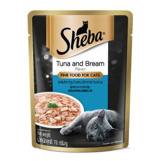 Sheba Tuna & Bream 70g Cat Wet Food