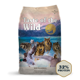 Taste of the Wild Canine Wetlands with Wild Fowl Grain-Free Dog Dry Food