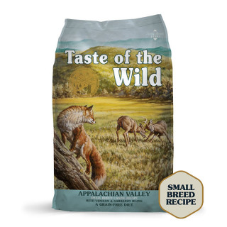 Taste of the Wild Appalachian Valley with Venison and Garbanzo Beans Grain Free Adult Small Dog Dry Food