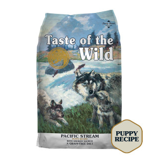 Taste of the Wild Pacific Stream with Smoked Salmon Grain-Free Puppy Dry Food