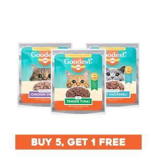 Goodest Cat Buy 5 Get 1 FREE Variety Bundle