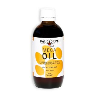 Pet Drs Mega Oil 200ml Dog Oral Liquid