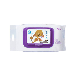 Odout Odor Removing Antibacterial Dog Wet Wipes (50 wipes)
