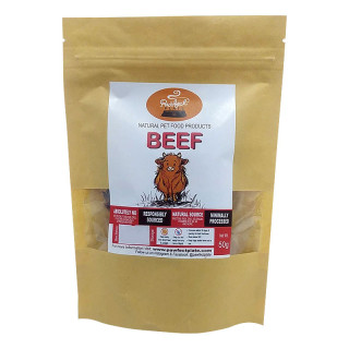 Pawfect Plate Beef 50g Dehydrated Pet Treats