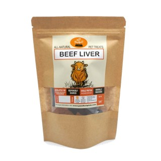 Pawfect Plate Bailey Bites - BEEF LIVER 50g Dehydrated Pet Treats