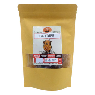 Pawfect Plate Beef Ox Tripe 50g Dehydrated Pet Treats