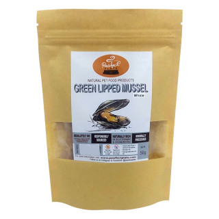 Pawfect Plate Green Lipped Mussels 50g Dehydrated Pet Treats