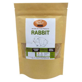 Pawfect Plate Rabbit Coins 40g Dehydrated Pet Treats