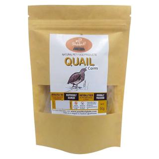 Pawfect Plate Quail Halves 50g Dehydrated Pet Treats