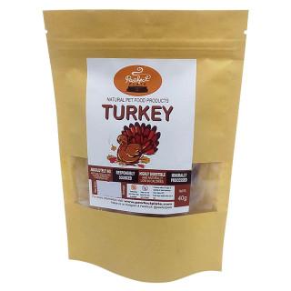 Pawfect Plate Turkey 50g Dehydrated Pet Treats