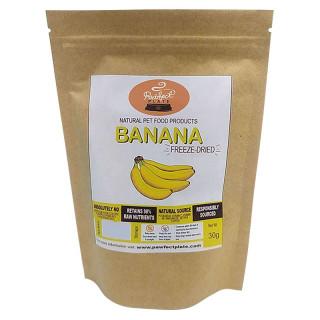 Pawfect Plate Banana 30g Freeze-Dried Pet Treats