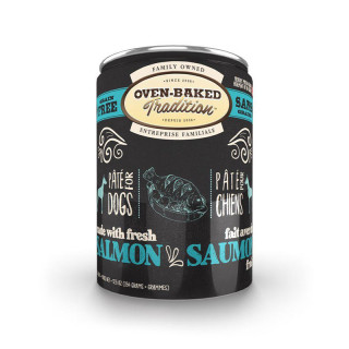 Oven Baked Tradition Grain Free Salmon Pate Dog Wet Food