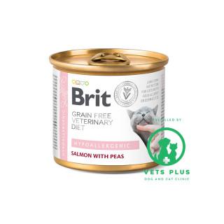 Brit Grain-Free Veterinary Diet Hypoallergenic 200g Cat Wet Food