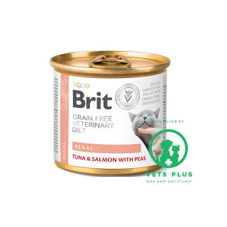 Brit Grain-Free Veterinary Diet Renal 200g Cat Wet Food
