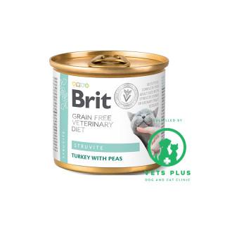 Brit Grain-Free Veterinary Diet Struvite 200g Cat Wet Food