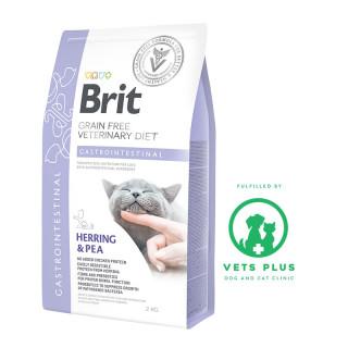 Brit Grain-Free Veterinary Diet Gastrointestinal 2kg Cat Dry Food