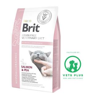 Brit Grain-Free Veterinary Diet Hypoallergenic 2kg Cat Dry Food