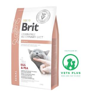 Brit Grain-Free Veterinary Diet Renal 2kg Cat Dry Food