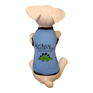 LIMITED EDITION Pawsh Couture K-Pup It's Okay To Not Be Okay Dinosaur Inspired Pet Tee