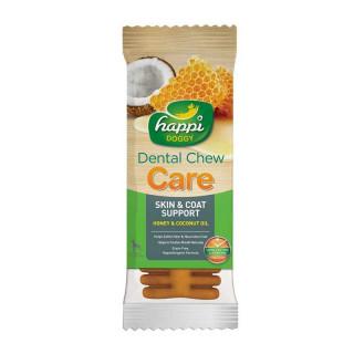 Happi Doggy Dental Chew Care Honey & Coconut 25g Dog Treats