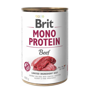 Brit Mono Protein Beef 400g Dog Wet Food