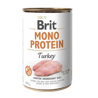Brit Mono Protein Turkey 400g Dog Wet Food