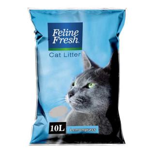 Feline Fresh Lemongrass Scent 10L Cat Litter