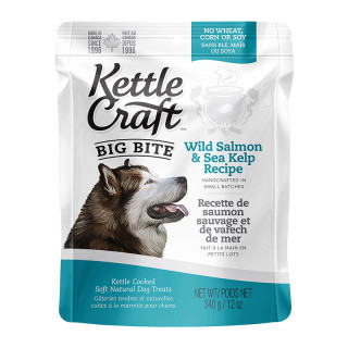 Kettle Craft Wild Salmon & Sea Kelp 340g Dog Treats