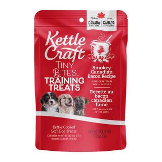 Kettle Craft Smokey Canadian Bacon Training 170g Dog Treats